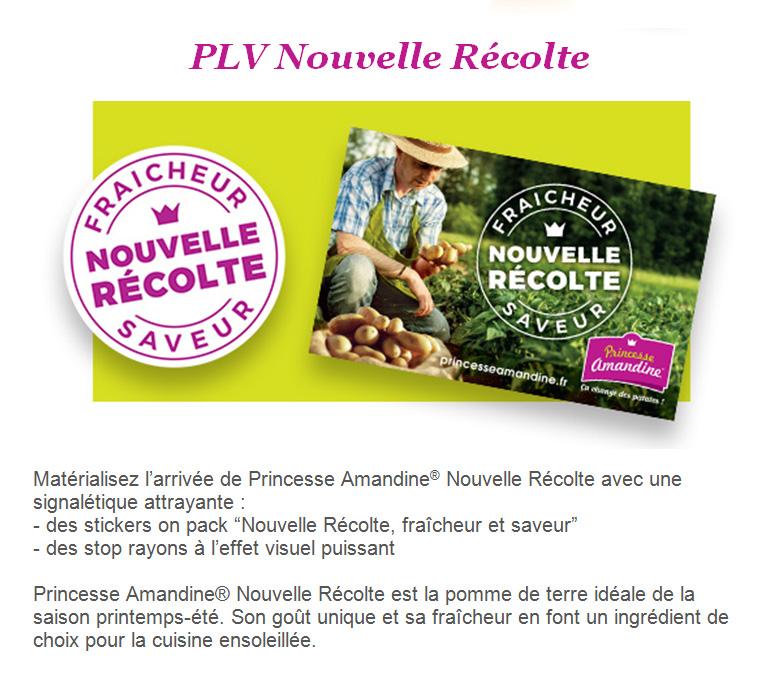 PLV PAM Nouvelle recolte