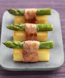 Princesse Amandine® en sushi d'asperge au lard