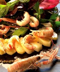 Salade de Princesse Amandine® aux langoustines