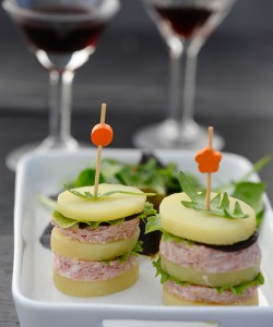 Burger de Princesse Amandine® au Pâté Hénaff®