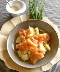 Salade de Princesse Amandine® au saumon