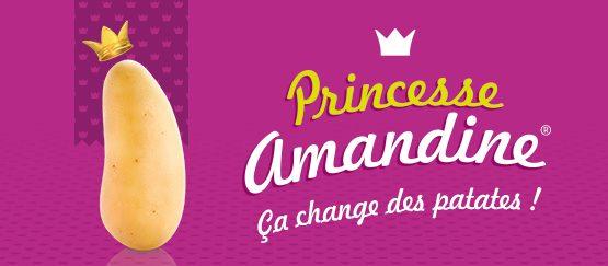 Princesse Amandine : ça change des patates !