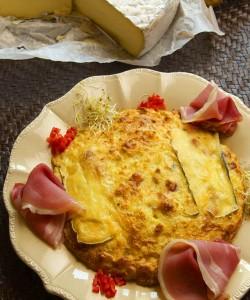 Gâteau de Princesse Amandine® à la tomme de Savoie