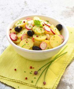 Salade-de Princesse Amandine aux olives noires ©Franck Schmitt